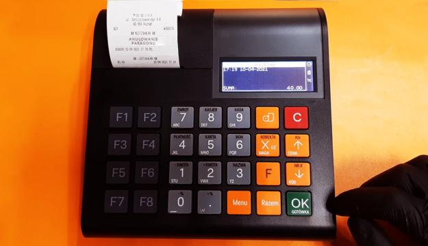 Paragon w kasie fiskalnej - jak anulować